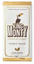 King Monty Classic Cacao Bar - 90g